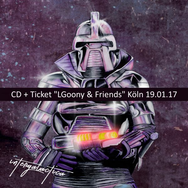 LGoony - Intergalactica + Ticket